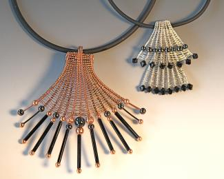 Woven Wire Jewelry Necklaces