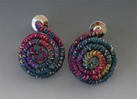 """Mia"" Fiber Wire Earrings"
