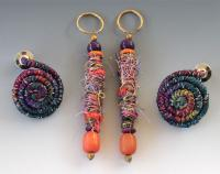 """Tyler and Mia"" Fiber Wire Earrings"