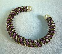 Colored Wire Bracelet