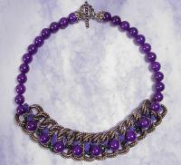 """Victoria"" Bead Chain Necklace"